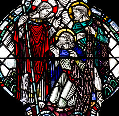 Lord, to Whom shall we Go? (Lawrence OP) Tags: glass christ cathedral glasgow jesus stained apostles hendrie