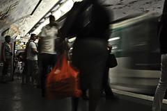 6 (FedericoManca) Tags: paris underground metro stazione metropolitana metropole parigi mosso treni federicomanca strazioni metroperigina