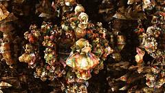 paper flowers (Ronald Fitch) Tags: fractal paperflowers corelpaint mandelbulb
