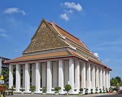 Wat Kanlayanamit Preaching Hall or Sala Kan Prien (DTHB1210) วัดกัลยณมิตรวรมหาวิหารศาลาการเปรียญ