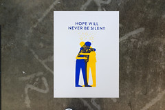 Hope (scottboms) Tags: posters design projects prints silkscreen designerinresidence dublin arl analogresearchlab