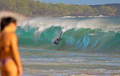 big beach action (bluewavechris) Tags: maui hawaii makena oneloa ocean water sea swell surf wave lip barrel tube action fun ride bikini ass beach bigbeach sights canon telephoto