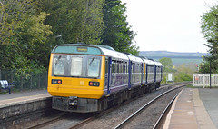 142031 (TRRPG Admin (Pending)) Tags: 142031 rear heads out edale towards sheffield 142062 is leading pacers class 142 northern rail