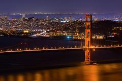 SF Night (@marco) Tags: california usa goldengatebridge sf sanfrancisco