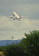 Lift Off (Bricheno) Tags: bricheno szkocja scozia schottland scotland scoia escocia esccia cosse    glasgowairport aeroplane airplane plane jet emirates boeing
