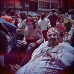 Zombie Walk (glhrmoura) Tags: zombie walk curitiba fevereiro de 2016 kodak portra 400vc holga 120gn toy camera toycamera film filme analog vintage lomo lomography iso400 vivid color parana brasil brazil shootfilm
