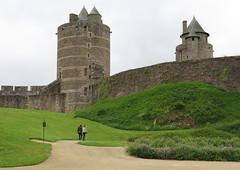 Fougres (18) (Silvia Inacio) Tags: fougres bretagne bretanha brittany france frana castle castelo