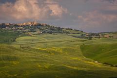 Before the storm (Joep10) Tags: europe italy pienza tuscany italia italylandscape landscape nature outdoor sunset toscana