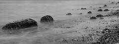 The beach (Alan-Taylor) Tags: beach pebbles sea water longexposure leefilter mappletonsands