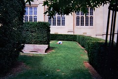 Don't play dead (G. Popova) Tags: bristol 2016 summer play ead lying grass university film 35mm kodak analog vsco street