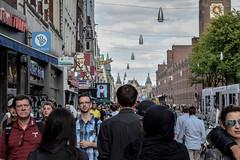 Damrak (FrstLife) Tags: damrak amsterdam city streetlife fuerstlife photography iamsterdam people menschen clock street rushhour