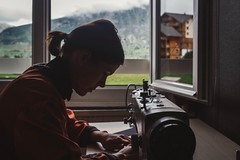 Hello from the insight! Our #VelottonBigTrip workshop in French Alps. /// #velotton #velottontravel #velottonworkshop #sewing #fromwhereiwork #mountains #frenchalps  #france #workshop #sewingmachine #onthework (Velotton) Tags: france velotton velottonbigtrip mountains velottonworkshop frenchalps sewing workshop velottontravel onthework sewingmachine fromwhereiwork