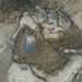 CHASSERIAU Théodore,1840 - Diane et Actéon, Etude (drawing, dessin, disegno-Louvre RF24456) - Detail 4