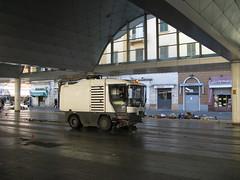 La Spezia (Italy) (photobeppus) Tags: laspezia market hall cleaning vehicle cities urban street photography architecture