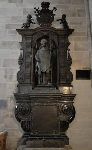 Bamberg (Alemania). Catedral. Sepulcro