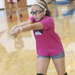 LHS Voleyball,Varsity, Youth Clinic, 9-8-2016