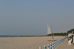Burj Al Arab (Gina's Atelier) Tags: beach strand dubai vae uae burjalarab hotel shore