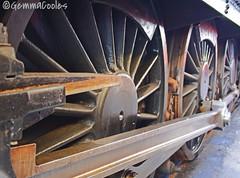 Train Wheels (GACooles) Tags: steam train transport didcot heritage museam