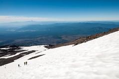 Climbing Adams (LucienTj) Tags: hike climb glacier slope mounthood hiking mountains mountadams vista hills mountain steep snow