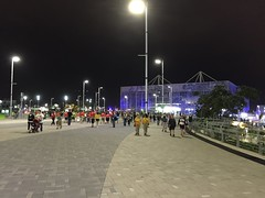 the Aquatic Centre by night