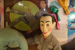 Pee Wee (ricko) Tags: peeweeherman doll display collection blueberryhill universitycity missouri balloons