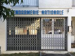 GENDARMERIE NATIONALE (frankrolf) Tags: castillonlabataille gendarmerienationale