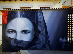 La Manola (pattbar) Tags: astorga leon spain streetart graffiti semanasanta