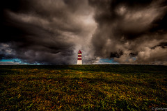 Alnes Lighthouse (jforberg) Tags: 2016 lighthouse norway noregia norwegian norwegen northsea navigatoroftheseas cloudy cloud