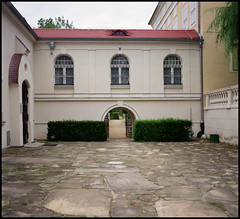 Agfa Super Isolette Fuji Pro 160 August 2016 01_08 (Hans Kerensky) Tags: agfa super isolette folder solinar lens fujifilm pro 160ns film scanner plustek opticfilm 120 poland august 2016 rogalin raczynski palace gallery