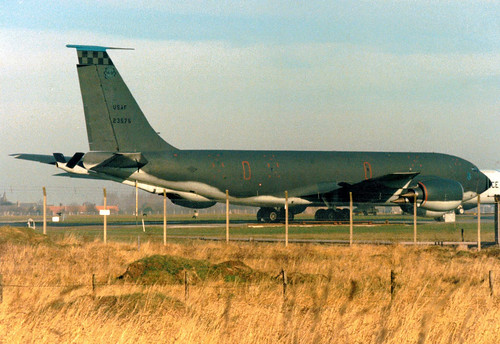 62-3575 Boeing KC-135R Stratotanker cn 18558 ln T0626 US Air Force RAF Mildenhall 29Jan89