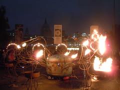Fire Robot (Kevan) Tags: greatfireoflondon stpauls firegarden fire fireextinguisher