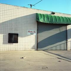 Better Be (ADMurr) Tags: la dtla fashion district shop green cream red blue rolleiflex planar zeiss mf kodak ektar film 6x6