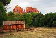 classic sedona shot (BehindBlueEyes) Tags: az arizona sedona cathedralrock nature
