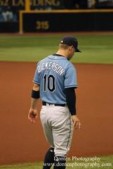 Corey Dickerson (jwdonten) Tags: majorleaguebaseball americanleague tampabayrays coreydickerson tropicanafield