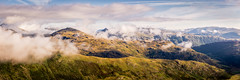 Cumbrian Mountains (Dave Fieldhouse Photography) Tags: cumbrianmountains landscape panorama stitchedpanorama cumbria outdoors morning summer lakedistrict clouds mountains fells valley