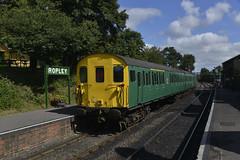 1125. 'Thumper' at Ropley. (Alan Burkwood) Tags: elements midhantsrailway ropley class205demu hampshireunit thumper 1125