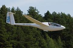 "Alisport Silent 2 Electro ""FES"" (krbak) Tags: alisport silent 2 electro fes 95afm eypr 150802 lietuva lithuania wgc pociunai nikon 55300mm 55300 glider landing avaition plane planespotting"