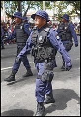 Guarda municipal RONDAC (wilphid) Tags: salvador bahia brsil brasil 7desetembro ftenationale arme dfil militaires soldats rue