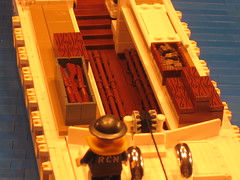 "LCA (Landing Craft Assault) (""Rumrunner"") Tags: world 2 beach lca war lego wwii craft canadian assault landing ii ww2 ww dday juno worldwar2 rumrunner brickarms"