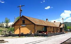 Railway Depot - Chama, New Mexico (danjdavis) Tags: newmexico trainstation depot chama oldbuilding historicbuilding railwaydepot