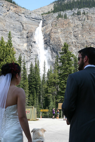 Wedding Bliss at Takakkaw Falls