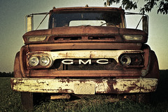 1966 GMC C305 Truck.  Custom painted -not a preset. (Nick Mulcock) Tags: