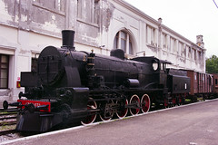 FS 476.073 in Trieste Railway Museum on 2 June 2012 (A Scotson) Tags: italy trains steam railways locomotives fs 2100 italianrailways class476 museoferroviarioditrieste triesterailwaymuseum
