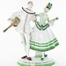 2022. German Porcelain Figural of Harlequin and Columbine