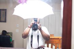 umbrella (downBridge) Tags: family test kids portraits studio flash indoor setup strobe
