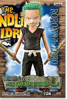 ONE PIECE THE GRANDLINE CHILDREN VOL.5 海賊王 孩童系列VOL.5 索隆 卡古