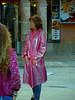 Who is this lady ? (mallorcarain) Tags: fetish nice boots vinyl streetshots raincoat pvc bottes fakes stiefel raincape regenmantel ciré lackmantel imperméables