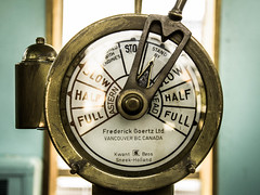 Standing By... (Jason Gallant.) Tags: door old light canada bronze canon circle handle eos boat ship bc slow waterfront antique full standby half steamship newwestminster paddlewheeler 60d samsonv