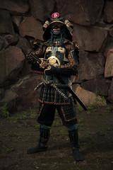 Samurai (mrksaari) Tags: summer portrait espoo finland costume cosplay event con 2012 sb80dx profoto ropecon dipoli d700 2470mmf28g acuteb