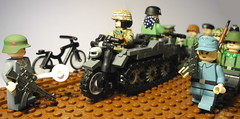 1945 (MR. Jens) Tags: world two last stand war lego wwii ss days ww2 second heer luftwaffe wehrmacht waffen brickarms brickarmy legouli